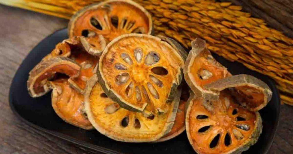 สมุนไพรแก้กรดไหลย้อน มะตูมอ่อน (Indian bael)