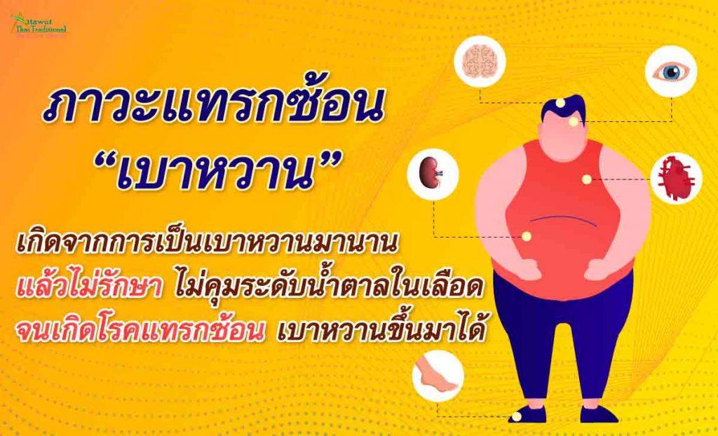 ภาวะแทรกซ้อนเบาหวาน เกิดจากการเป็นเบาหวานมานาน แล้วไม่รักษา ไม่คุมระดับน้ำตาลในเลือด จนเกิดโรคแทรกซ้อน เบาหวานขึ้นมาได้